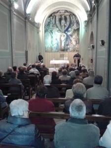 22-03-2014 Pregària a la Capella del Remei