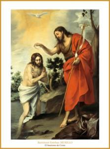 baptisme de crist de murillo