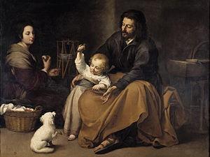 imatge sagrada familia murillo